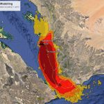 Riskaware models the potential impact of a release from the FSO SAFER oil facility in Yemen